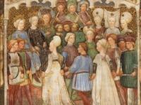 10.- Teodolinda e Autari: festeggiamenti nozze