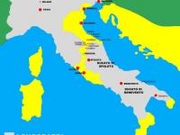 19b.- Cartina del corridoio bizantino