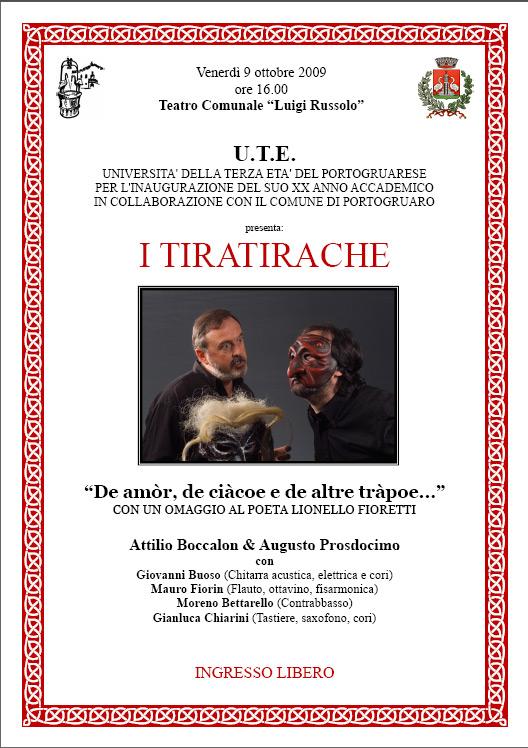 Locandina Tiratirache