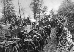 Marcia nella valle dell'Isonzo