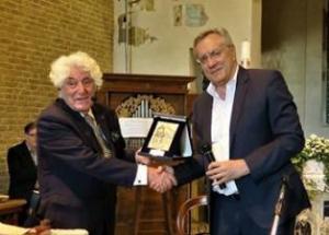 Alessandrini con il Maestro Gustavo Zanin