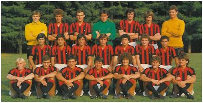 Il Milan 80-81 che torna in A. E' la squadra di Collovati, Baresi, Maldera…